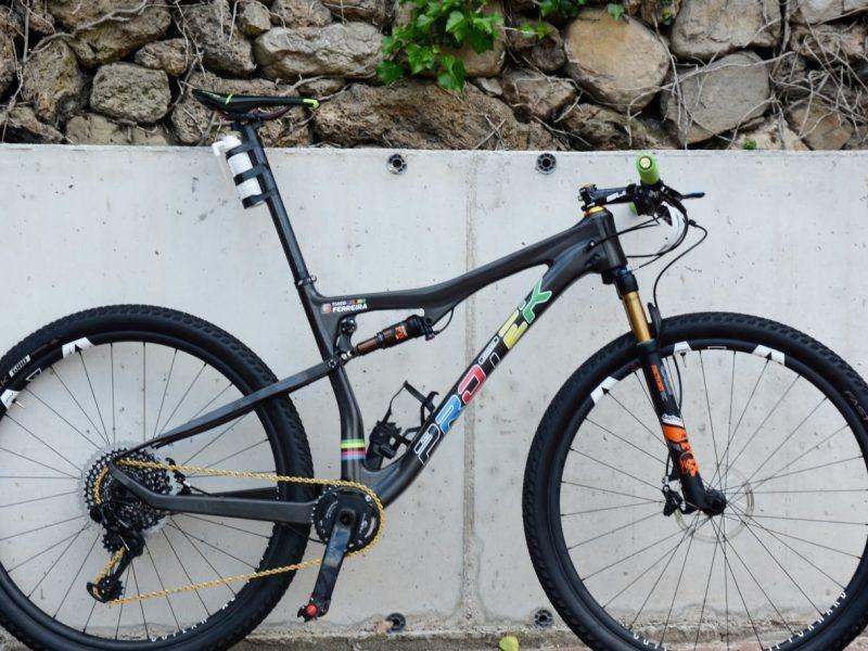 Conhece a bicicleta de Tiago Ferreira ao pormenor