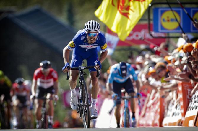 Clássica Fleche Wallonne – Julian Alaphilippe destrona Valverde