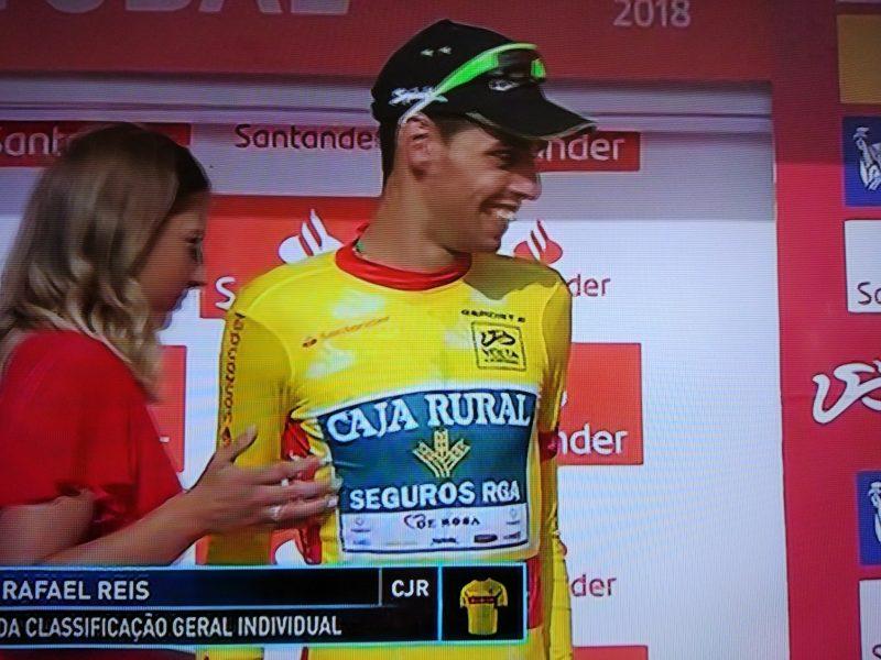 Rafael Reis é o primeiro camisola amarela da Volta a Portugal 2018