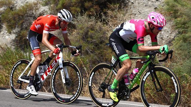 Vuelta, etapa 5 – Mudança de líder da classificação geral.