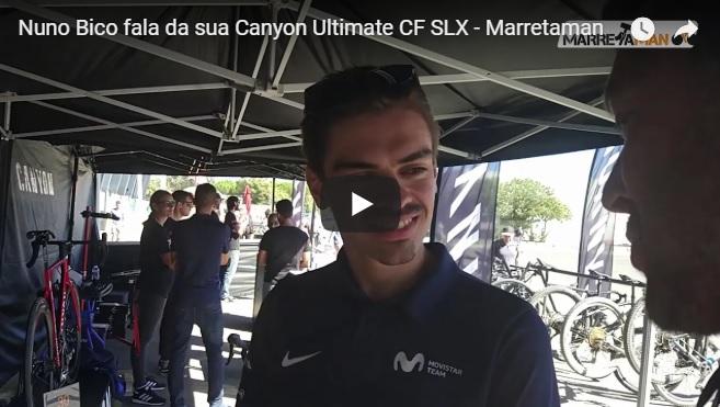 Nuno Bico fala da sua bicicleta no Canyon Experience Weekend