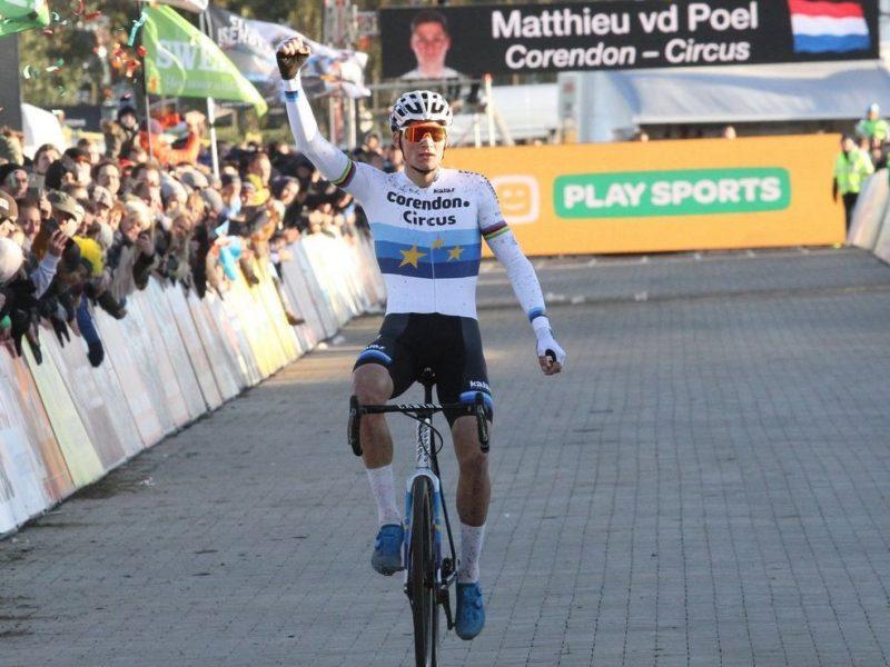 Ciclocrosse superprestige – Mathieu Van der Poel vence 3 em 3