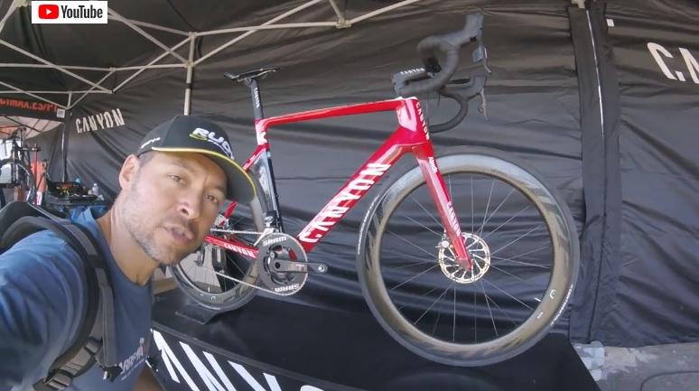 A bicicleta da equipa Katusha – CANYON Aeroad CF SLX Disc
