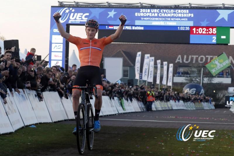 Campeonato da Europa de CX – Mathieu van der Poel revalida título.