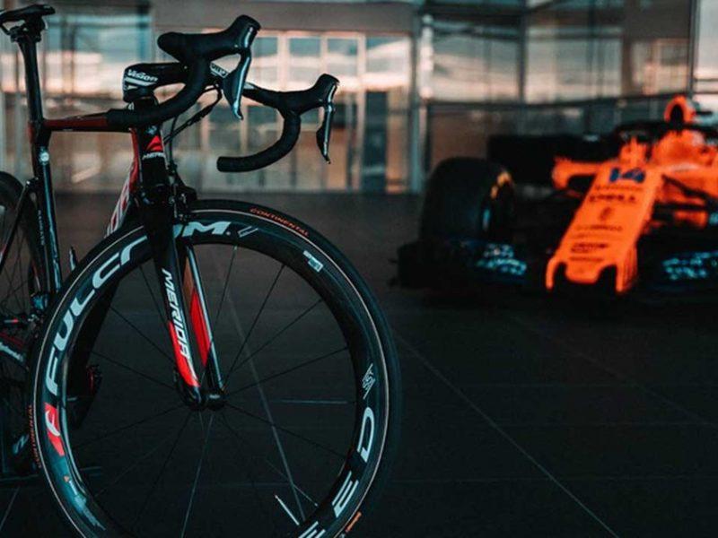 McLaren é o novo patrocínio da equipa Bahrain Merida.
