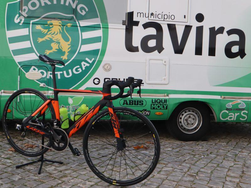 Sporting-Tavira irá correr  com travões de disco em 2019.
