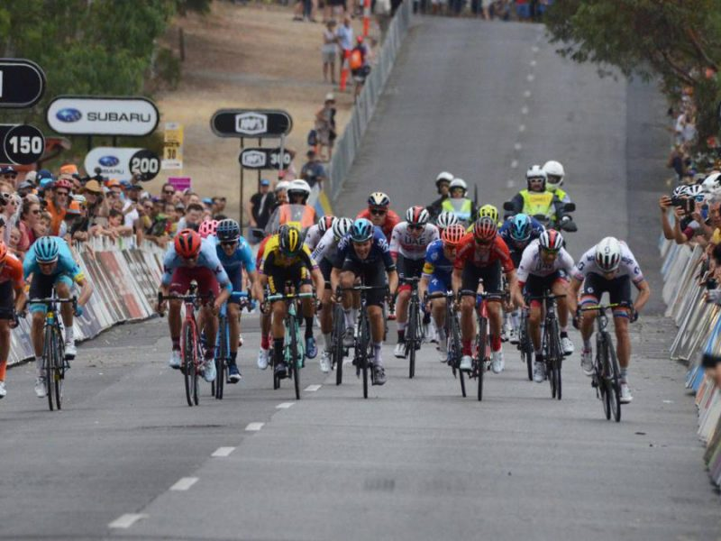 Santos Tour Down Under – Rúben Guerreiro em destaque.