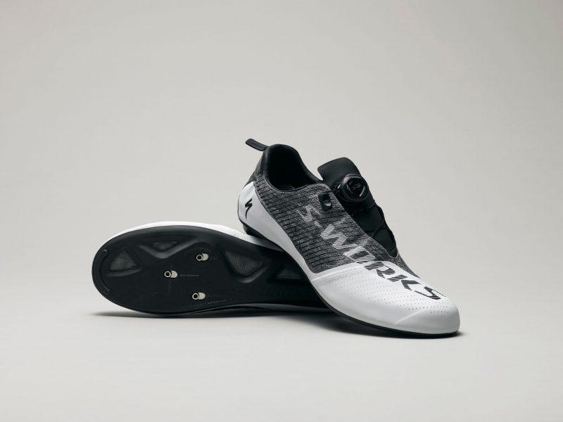 Novos sapatos S-Works EXOS