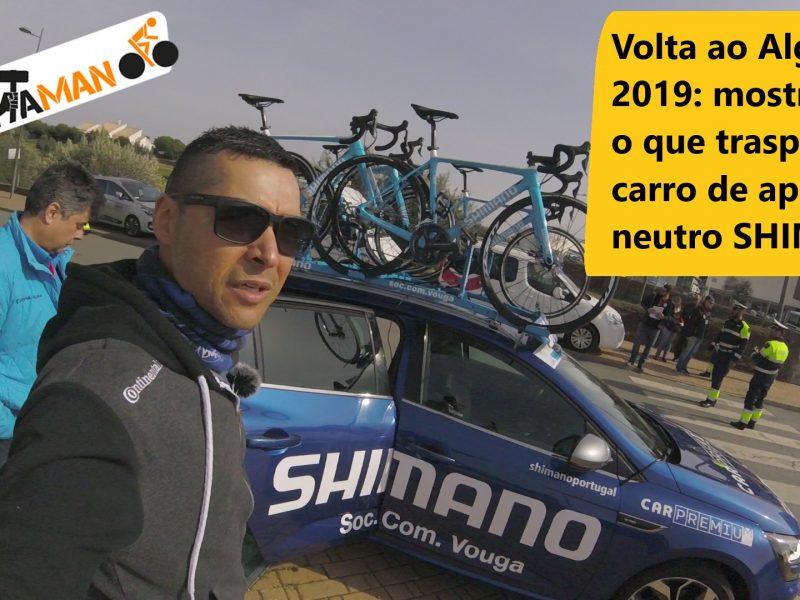 Volta ao Algarve – Fica a conhecer o carro de apoio SHIMANO por dentro.