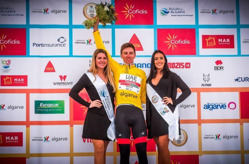Volta ao Algarve, Etapa 3 – Stefan Kung vence etapa, Tadej Pogacar mais líder.