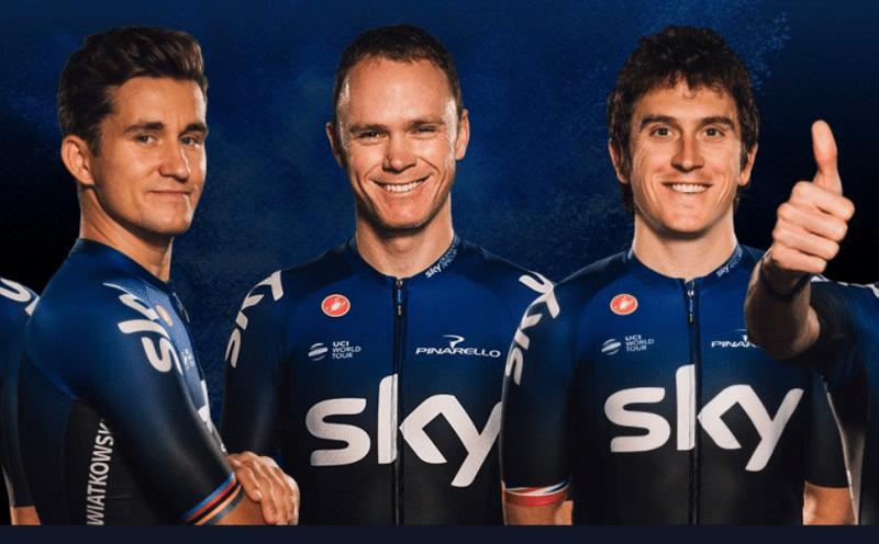 Já está! Team Sky tem novo dono, INEOS compra equipa.