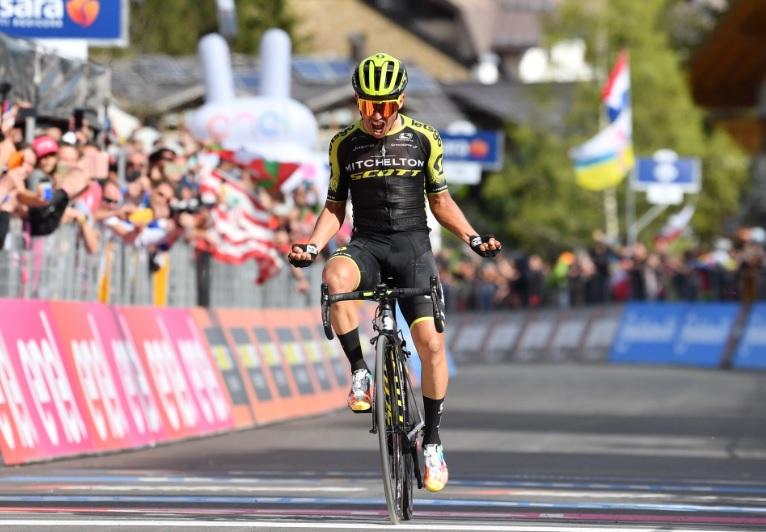 Giro de Itália, etapa 19 – Grito de raiva de E.Chaves e tentativa de Amaro