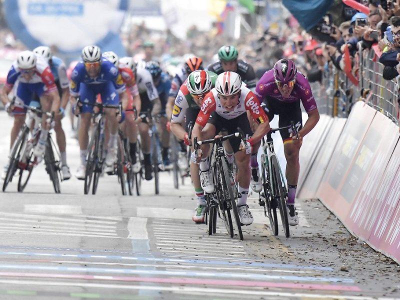Giro de Itália, etapa 8 – Finalmente Clab Ewan