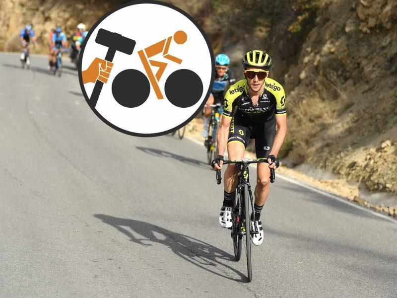 Giro de Itália, etapa 13 – Hoje já foi para homens de barba rija