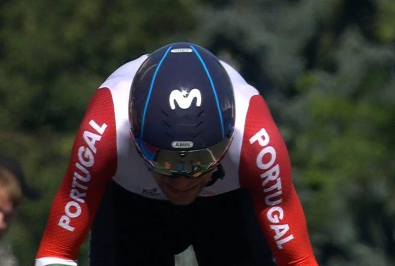 Nelson Oliveira alcançou  medalha de prata nos jogos Europeus