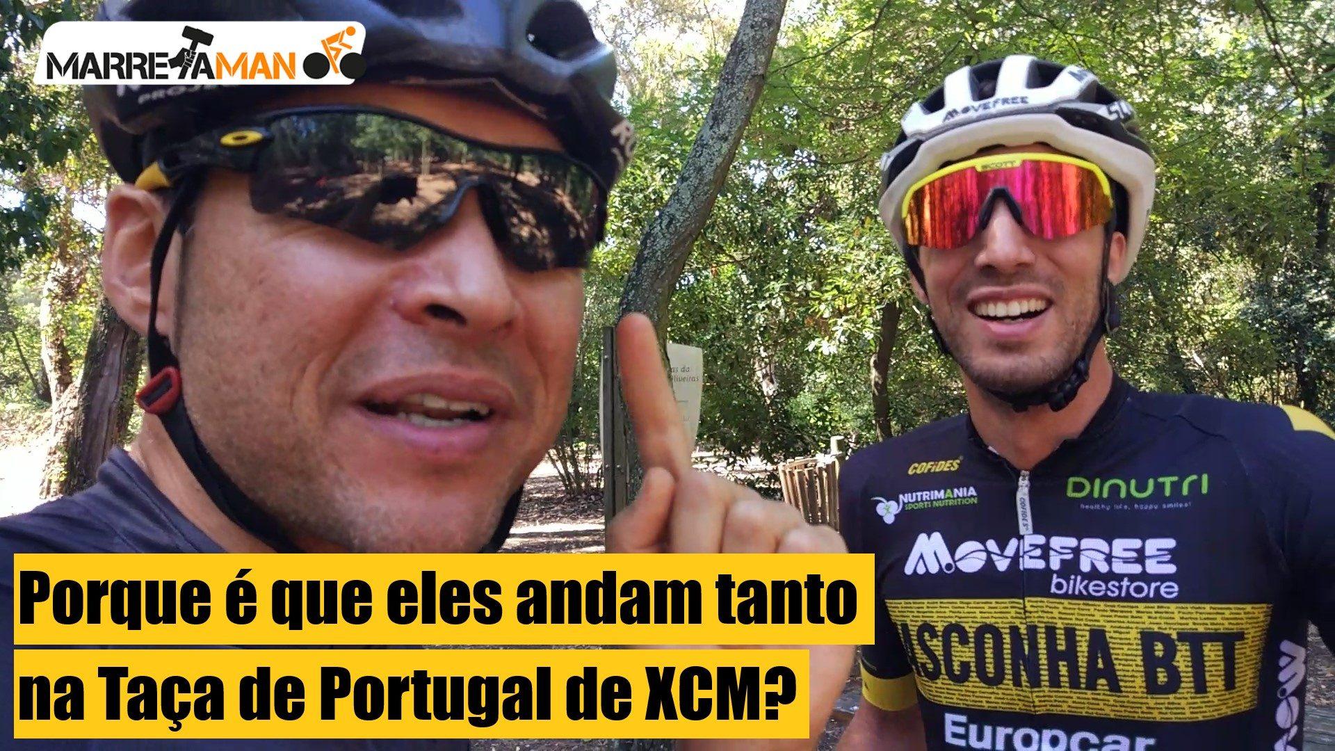 Vídeo – A pedalar com o vencedor da Taça de Portugal de XCM
