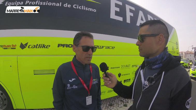 Entrevista a Américo Silva na Volta ao Algarve 2019