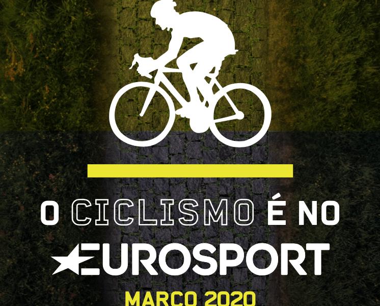 Transmissões de ciclismo no Eurosport do mês de Março