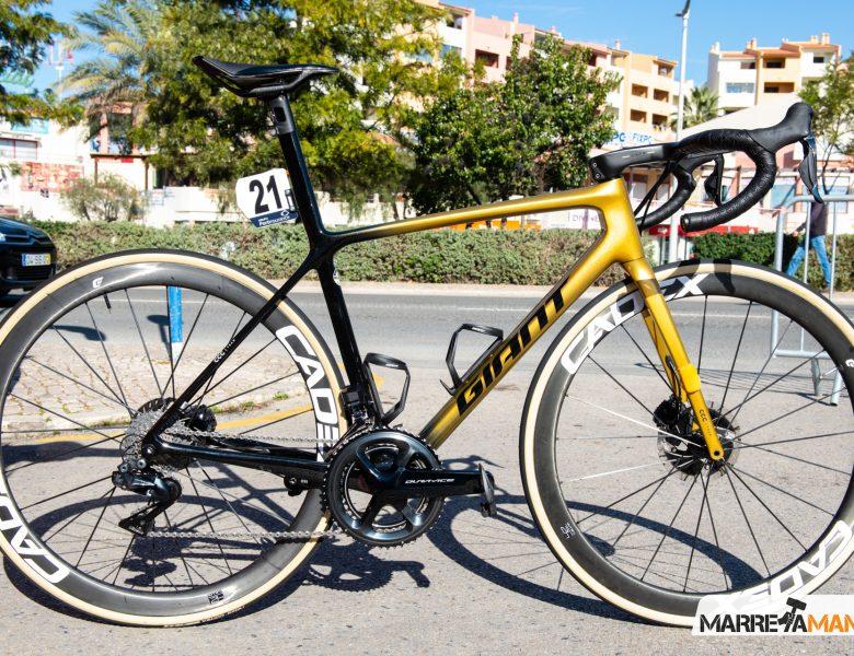 A Exclusiva Giant TCR de Greg Van Avermaet