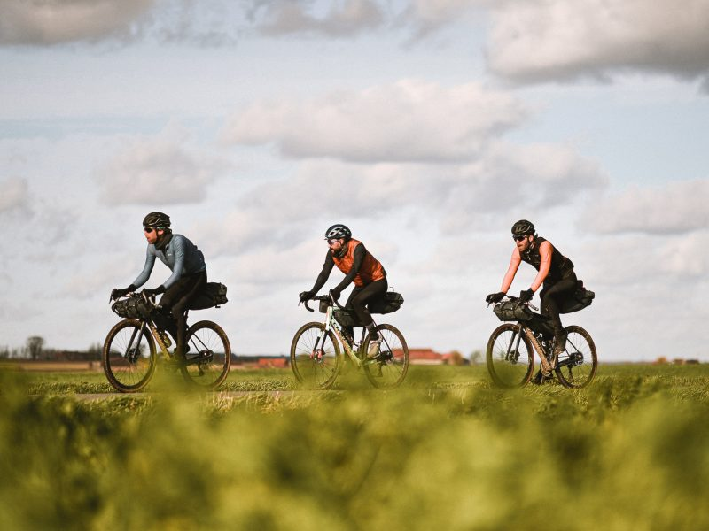 O Tour de Flanders alternativo feito por Laurens Ten Dam em Gravel