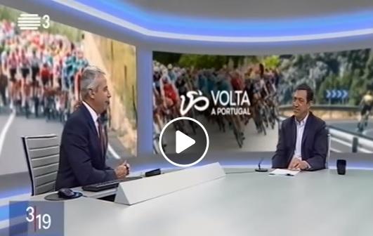 Delmino Pereira explica que a Volta a Portugal 2020 terá as medidas de segurança sanitária