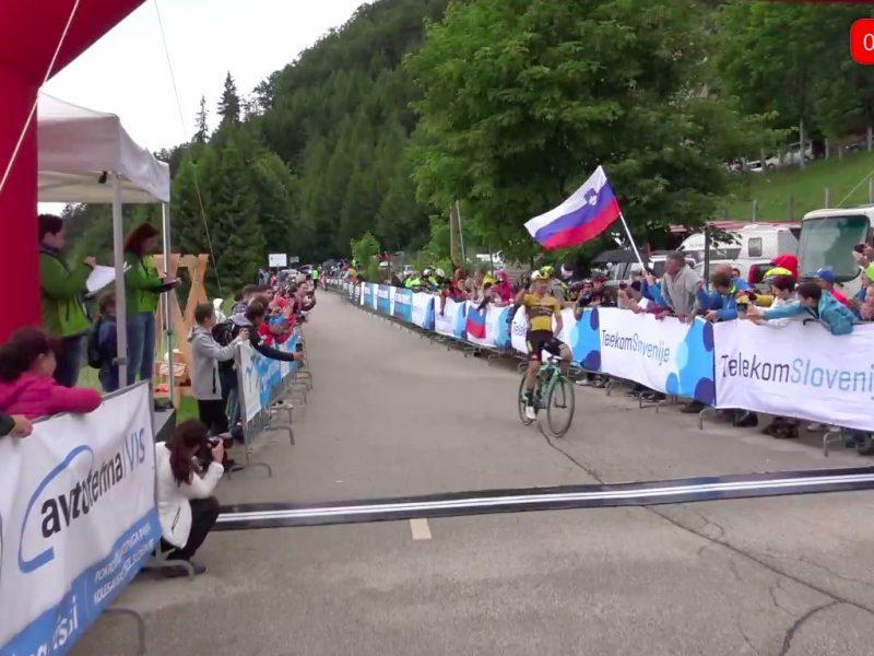 Primoz Roglic sagra-se campeão esloveno