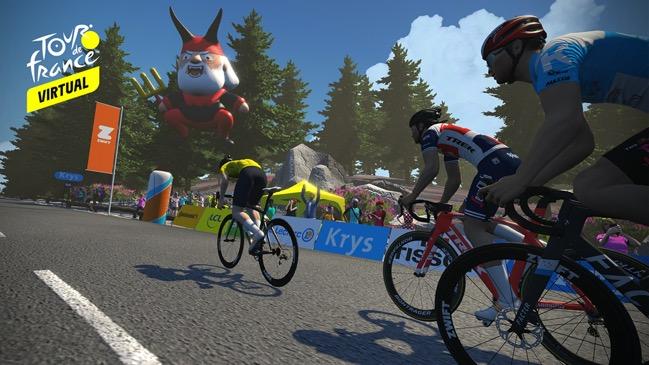 Volta a França virtual no Eurosport