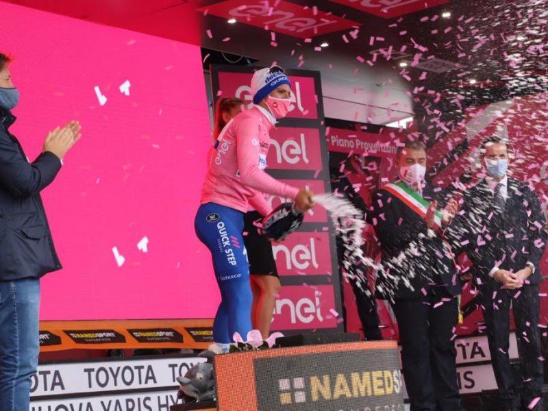 Giro de Itália – João Almeida continua de Rosa à etapa 6