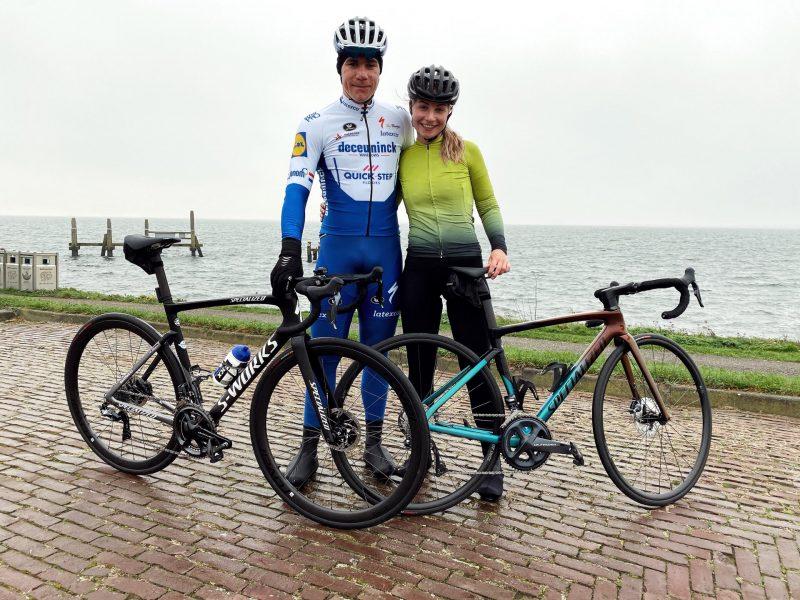 Fábio Jakobsen voltou à bicicleta hoje