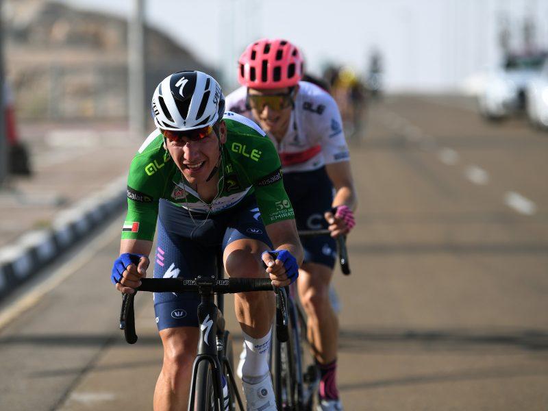 João Almeida mantém-se no pódio após 3.ª etapa do UAE Tour