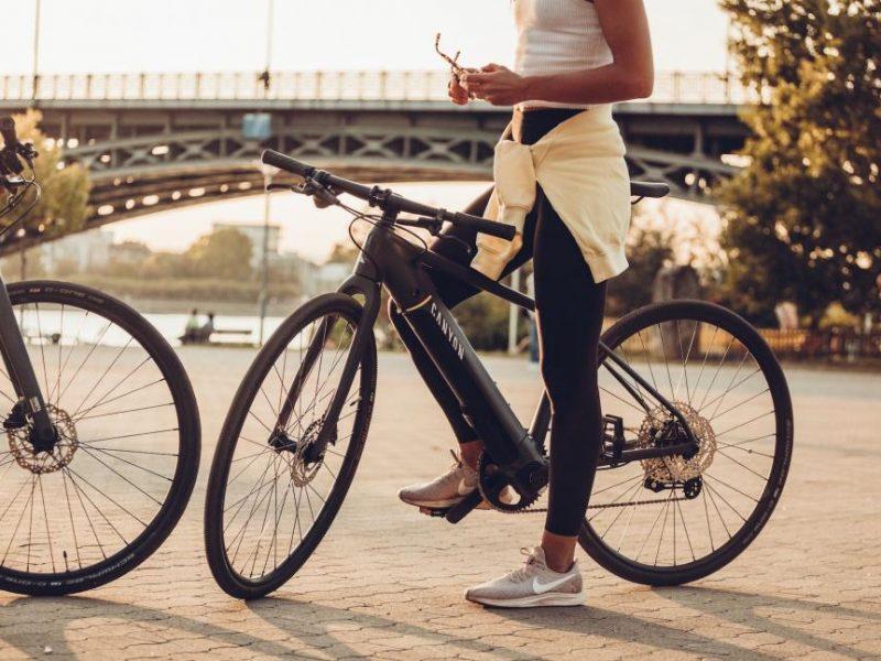 Canyon Roadlite ON 2021 – Para deslocações e fitness