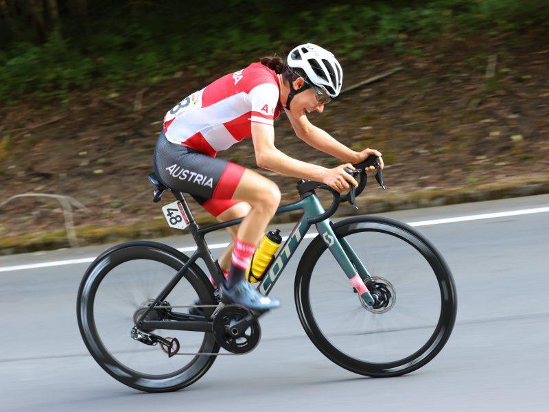 Jogos Olímpicos – Prova de de ciclismo de fundo feminina