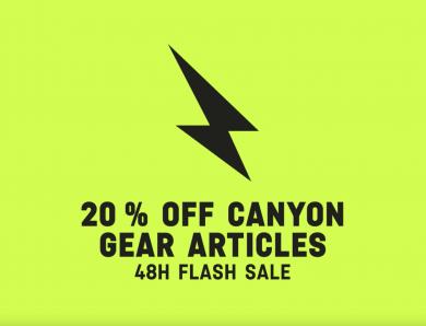 Canyon anuncia desconto de 20% dias 7 e 8 de Julho