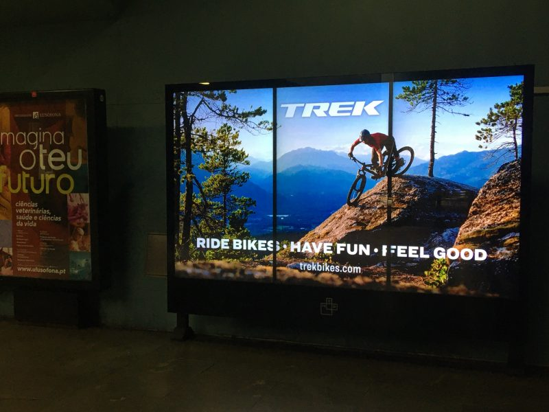 "A campanha publicitária da TREK – ""Ride Bikes. Have Fun. Feel Good."""