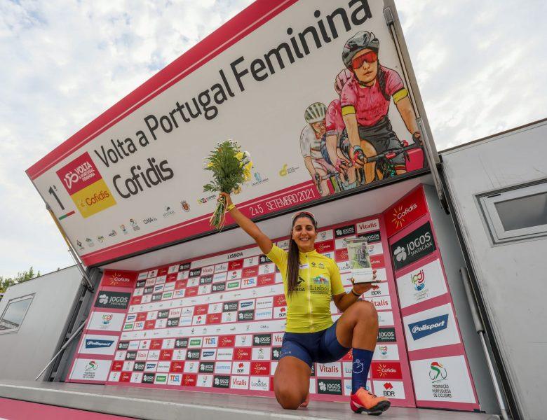 Raquel Queirós venceu a primeira Volta a Portugal