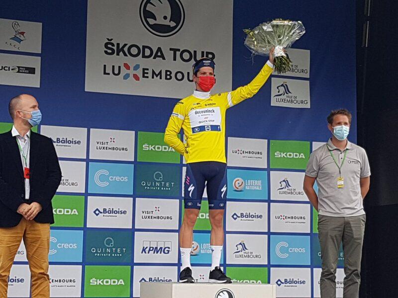 João Almeida venceu a Volta ao Luxemburgo